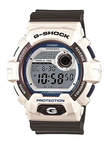 Casio G-8900SC-7CR - Reloj de pulsera hombre, plástico, color gris: G-SHOCK: Amazon.es: Relojes