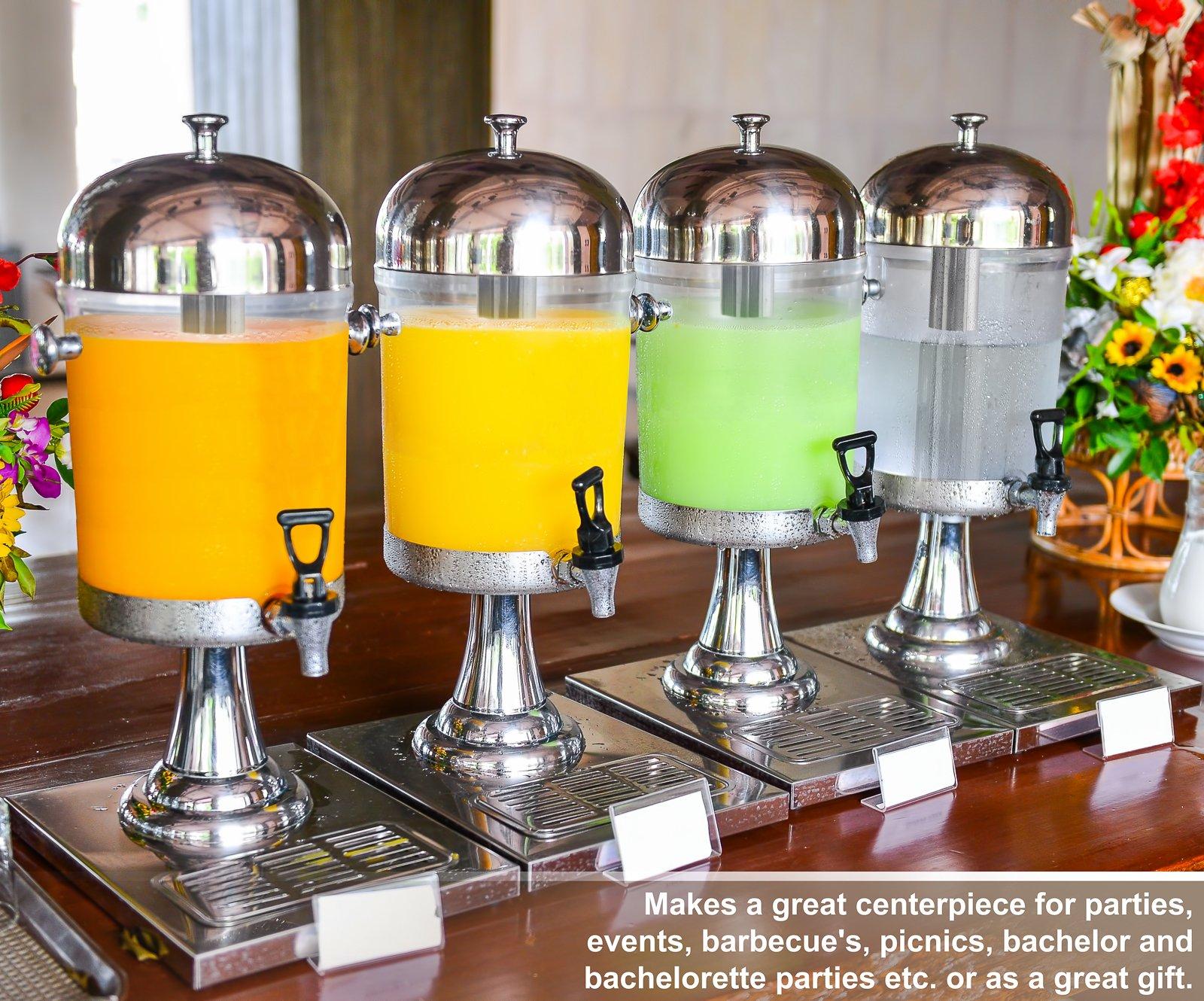 Estilo Heavy Duty Stainless Steel Drink Dispenser, 8L by Estilo (Image #4)