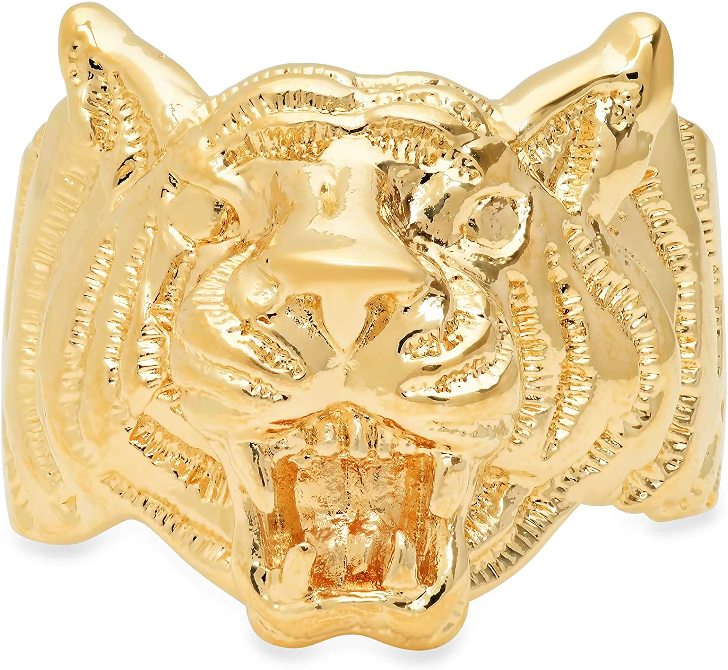 Roberto Martinez Yellow Gold Plated El Tigre Ring