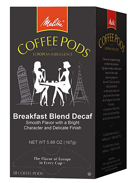 Top 10 Melitta Coffee Pods Decaf