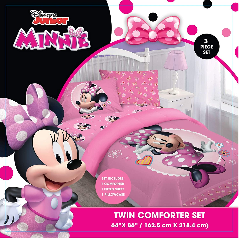 Comforter Set - Minnie Bowtiful Dreamer Twin