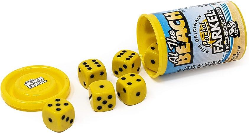 Legendary Games LGII07031 Original Pocket Farkel Yellow