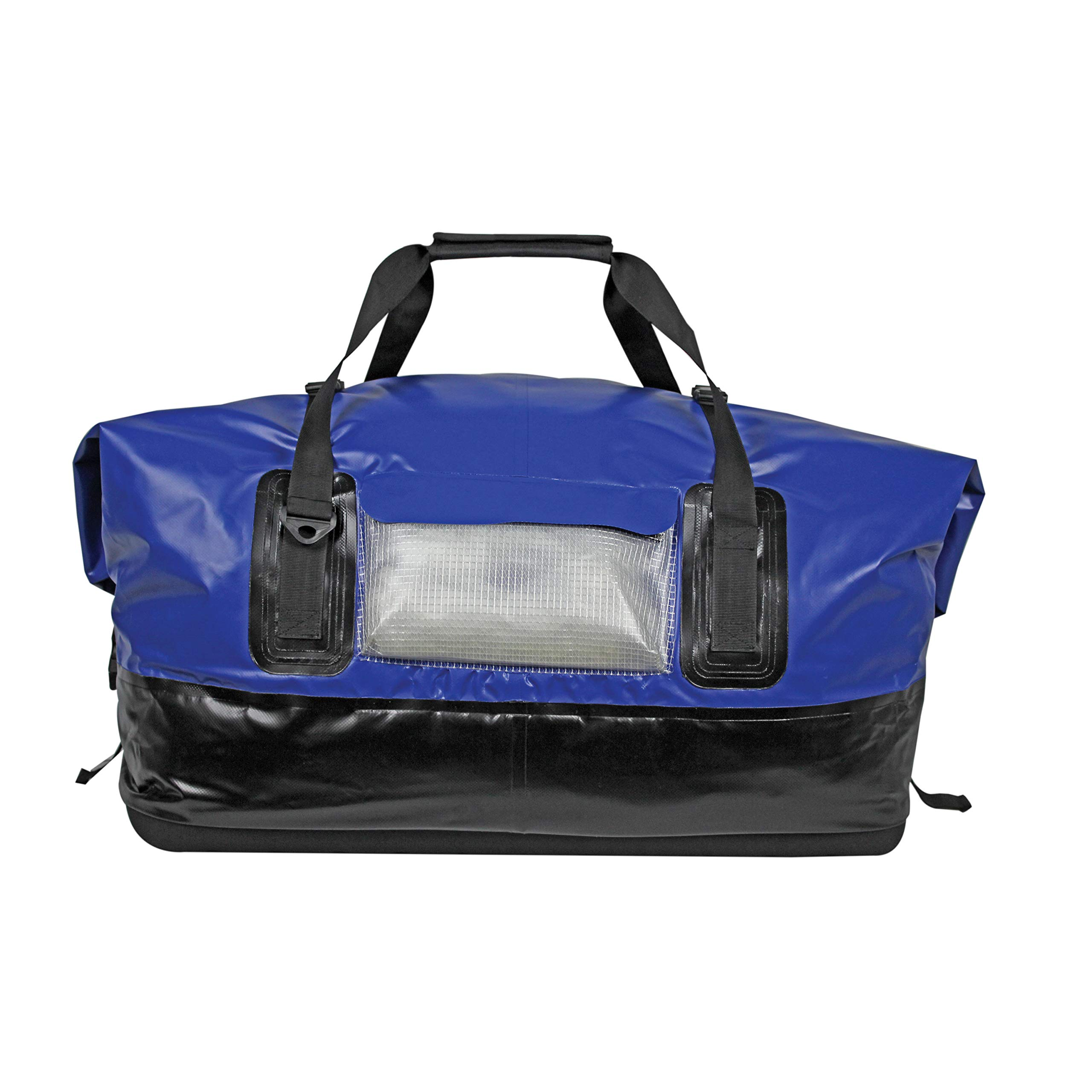 Extreme Max 3006.7345 Dry Tech Waterproof Roll-Top Duffel Bag, Extra Large (110 Liter) - Blue by Extreme Max
