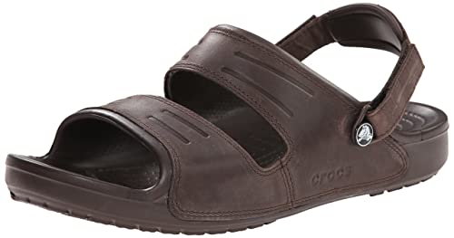 f0aa6185f crocs Yukon Two-Strap Sandal M Men Sandals  Shoes  14325-2L3-M9  Buy Online  at Low Prices in India - Amazon.in