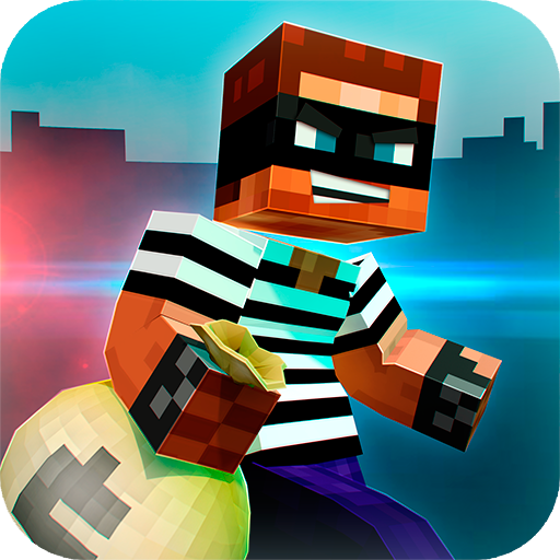Robber Race Escape  The Police Car Racing Game