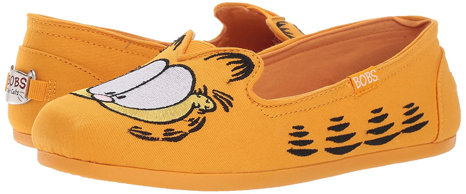 0dfbc13ecc2 Skechers Women s Bobs from Bobs Plush-Catnip Fever. Garfield Kitty Slip On Ballet  Flat  Buy Online at Low Prices in India - Amazon.in
