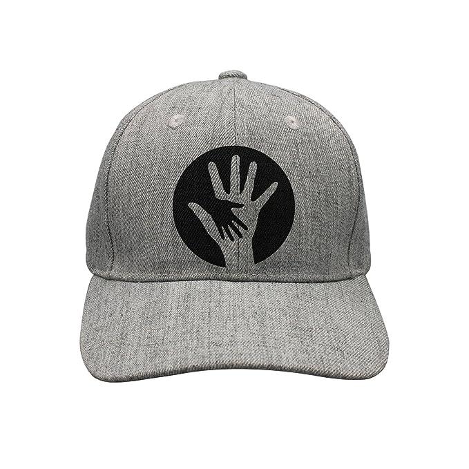 bcc11715298dc lsawdas Black Design Hand in Hand to Dear Baby Woolen Peak Cap Snapback Hat  Vintage Snapbacks