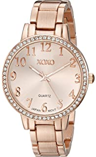 XOXO Women s XO5846 Analog Display Analog Quartz Gold Watch f648cb08fc54