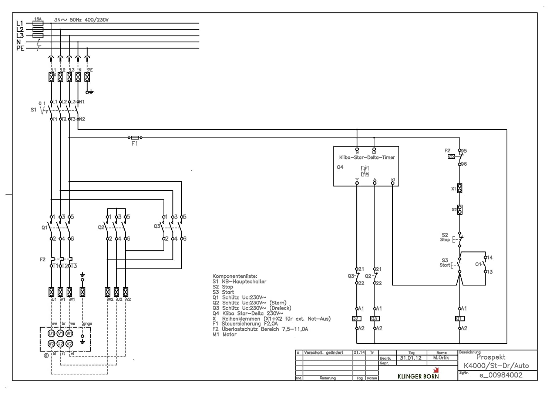 Nett Stern Dreieck Motor Schaltplan Zeitgenössisch - Elektrische ...