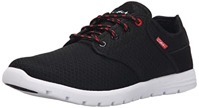 C1RCA Men's Atlas Skate Shoe, Black/White, ...