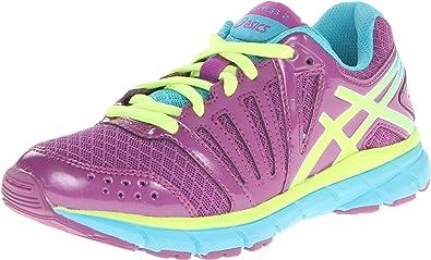 Asics Gel-lyte33 2 GS - Zapatillas de Running de Material Sintético para Mujer Purple/Blazing Yellow/Turquoise, Color, Talla 33 EU: Amazon.es: Zapatos y complementos