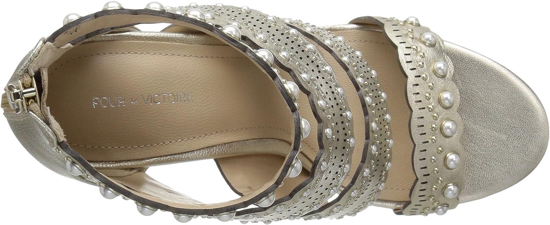 Pour La Victoire Womens Ellura Heeled Sandal