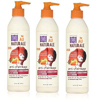 Dark & Lovely [VALUE PACK OF 3] DARK AND LOVELY AU NAT CLEANSING CONDITIONER A-LA CREME 13.5oz