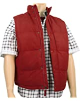 Men's Marty McFly Puffer Vest Red