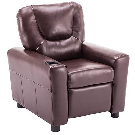 Amazon.com: Mcombo 7240 - Sofá reclinable con reposabrazos ...