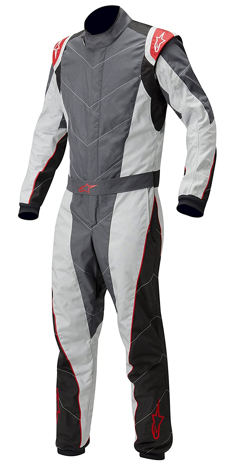 3353012-149-46 Anthracite//Silver//Red Size-46 K-MX 5 Kart Suit Alpinestars