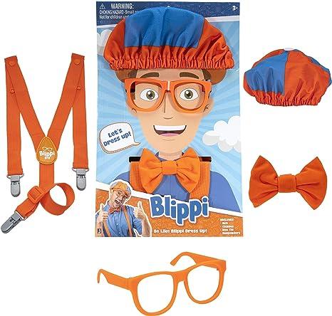 For Blippi Hat Unisex Children Kids Teenagers Blippi Cap Cosplay Prop B9R3L