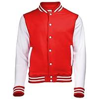 Just Hoods by AWDis Herren Jacke Varsity Jacket
