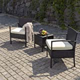 PAMAPIC 3 Piece Furniture Sets, All-Weather