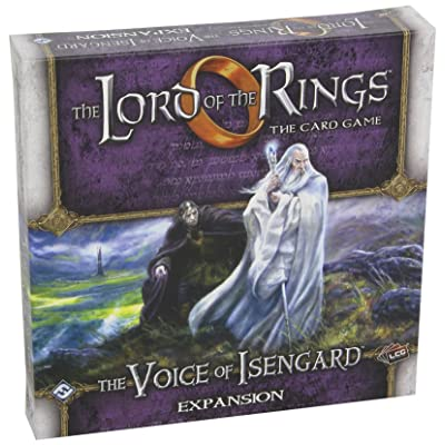 Lord of the Rings LCG: The Voice of Isengard: Fantasy Flight Games: Toys & Games
