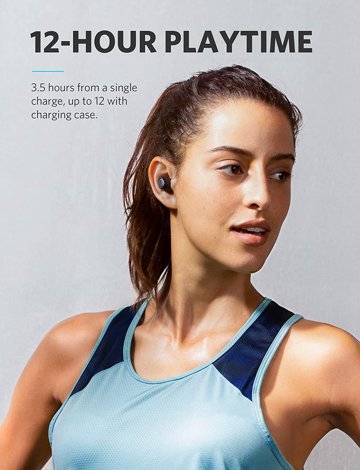 Soundcore True Wireless Earphones Liberty Lite By Anker Samsung Headphone Cable Wiring Diagram Headphones With 12 Hour Playtime Graphene Enhanced Drivers Microphone And Bluetooth 5