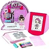 L.O.L. Surprise! Fashion Plates by Horizon Group USA,DIY Fashion Design Activity Kit, Make Over 100 Designs, 14 Fashion Plate