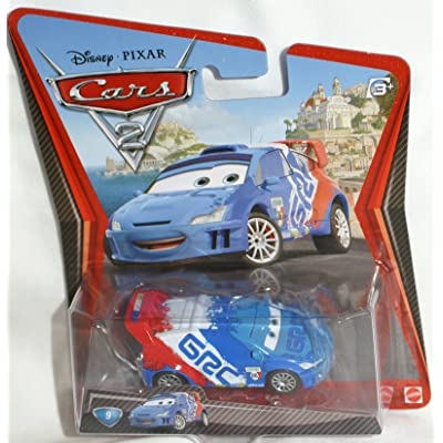 Disney / Pixar CARS 2 Movie Exclusive 155 Die Cast Car with Synthetic Rubber Tires Raoul CaRoule: Toys & Games
