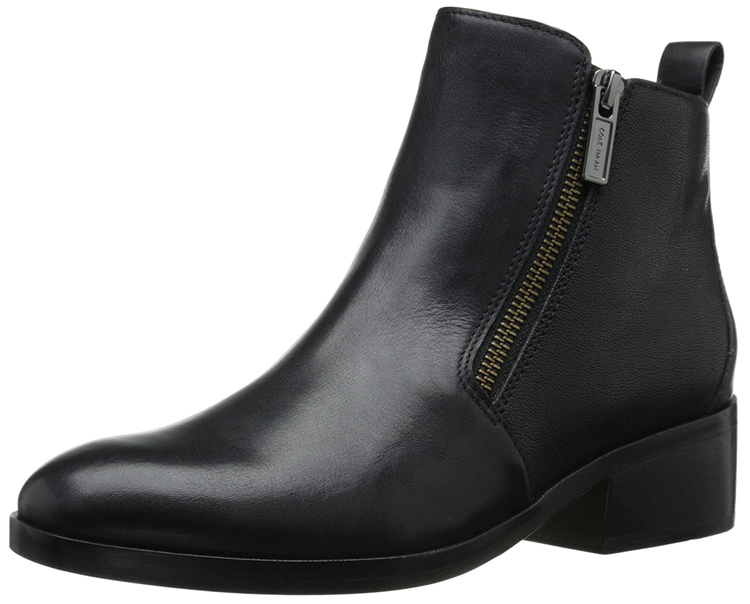 Cole Haan Women's Oak Boot B00YDY1V8O 10 B(M) US|Black Leather