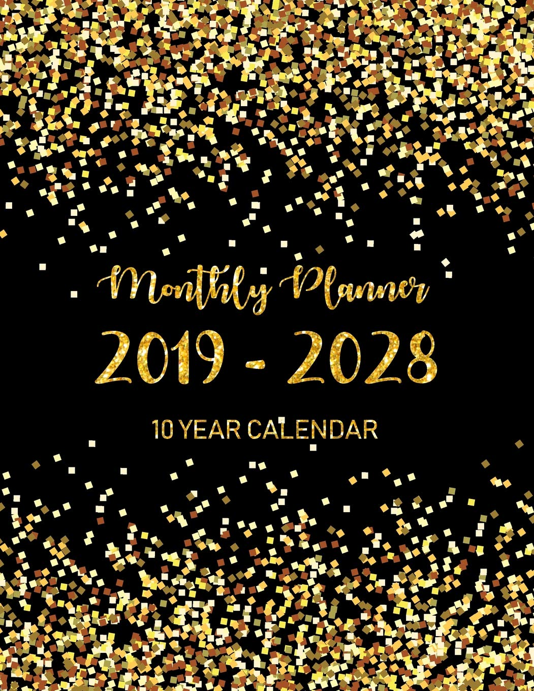 Amazon.com: 2019 - 2028 Monthly Planner 10 Year calendar ...