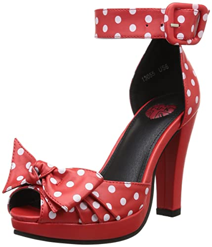 T.U.K. Shoes A8854L Womens Heels