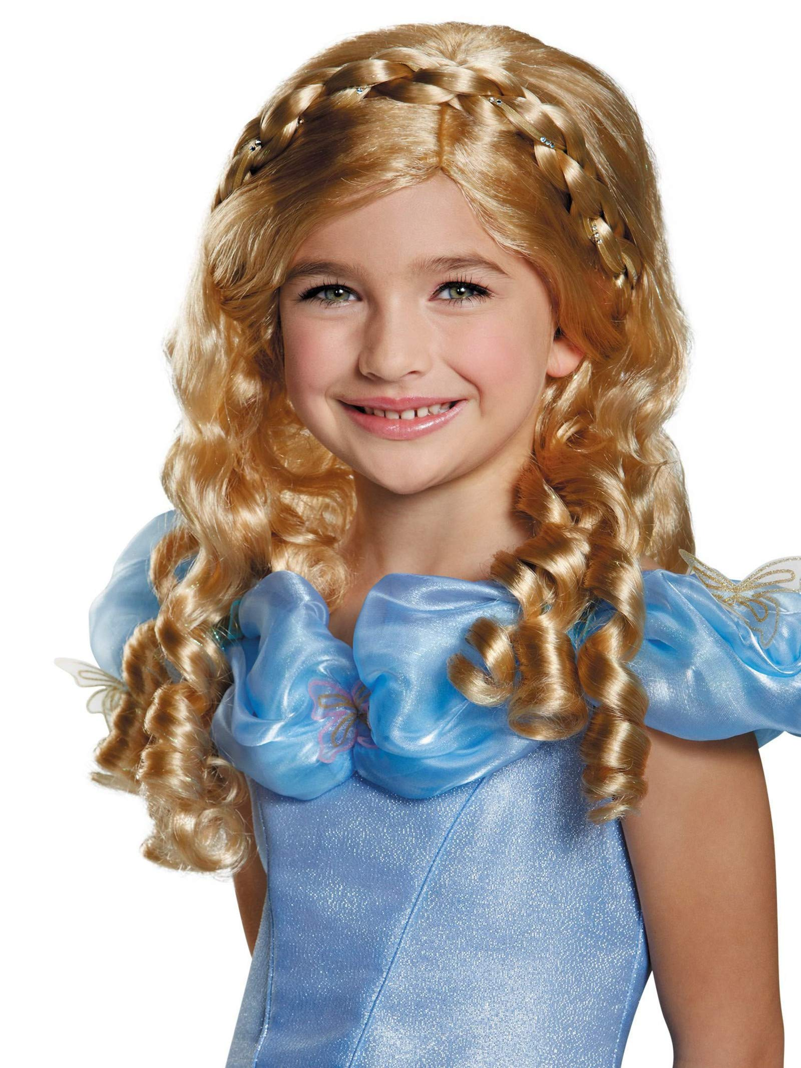 Disguise Cinderella Movie Child Wig Costume by Disguise