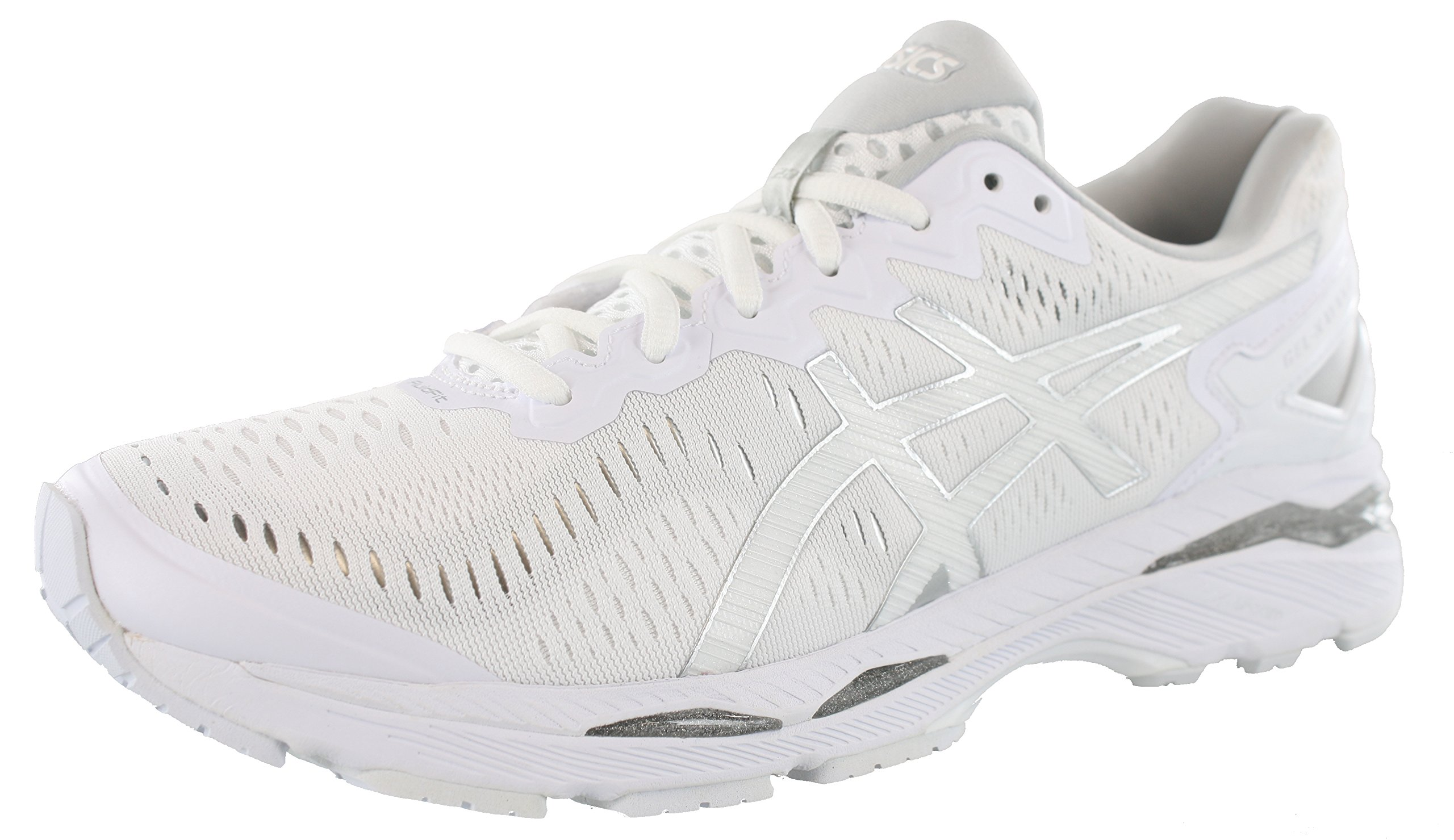 ASICS Men's Gel-Kayano 23 Running Shoe, White/Snow/Silver, 11 M US by ASICS