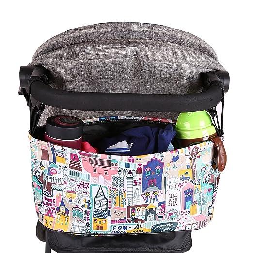 Amazon.com : Baywell Multifunctional Baby Stroller Organizer ...