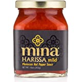 Mina Harissa Mild Moroccan Red Pepper Sauce, 10 Ounce