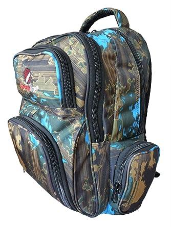 School Backpack Bag - FREE Matching Pencil Case - Medium Size Backpacks - 6  Pockets - cac694c5cfd4b