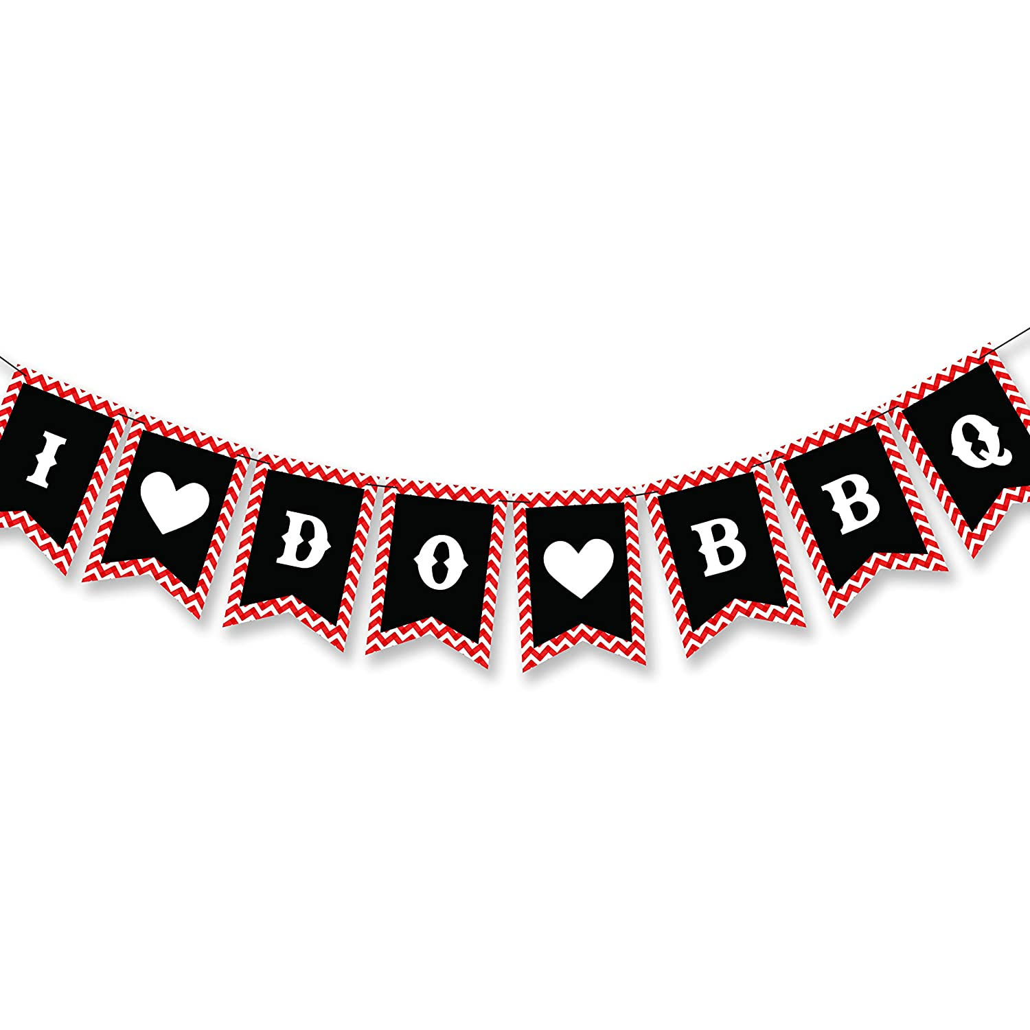 I Do BBQ Better Be Quick Bridal Shower Engagement Wedding Themed Party Supplies Decorations Banner