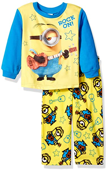 9a3556a2c448 Despicable Me Little Boys  Toddler 2-Piece Fleece Pajama Set with Minion