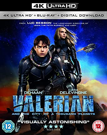 Amazon Com Valerian And The City Of A Thousand Planets 4k Uhd Blu Ray 2017 Movies Tv