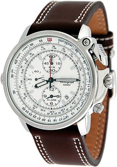 [セイコー]SEIKO腕時計アラームつきパイロットクロノSNAB71P1[並行輸入品]