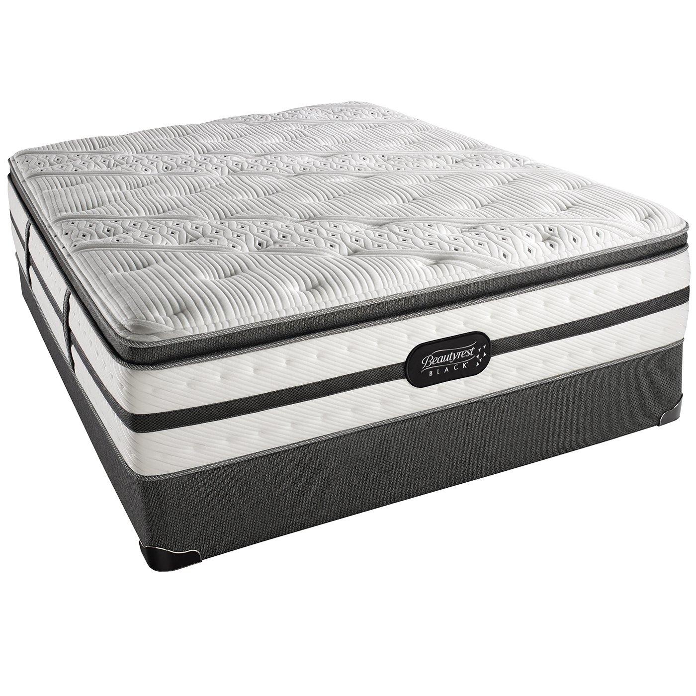 Amazon Beautyrest Black Evie Luxury Firm Pillow Top Mattress