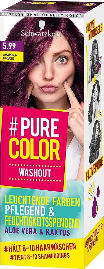 Schwarzkopf #Pure Color Washout 5.99 - Tinte para el cabello (1 unidad, 60 ml)