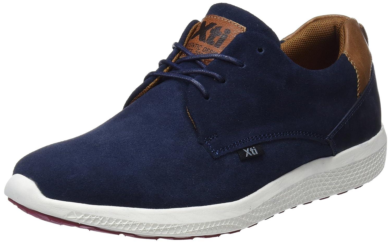 XTI 47173, Zapatos de Cordones Derby para Hombre 43 EU|Azul (Navy)