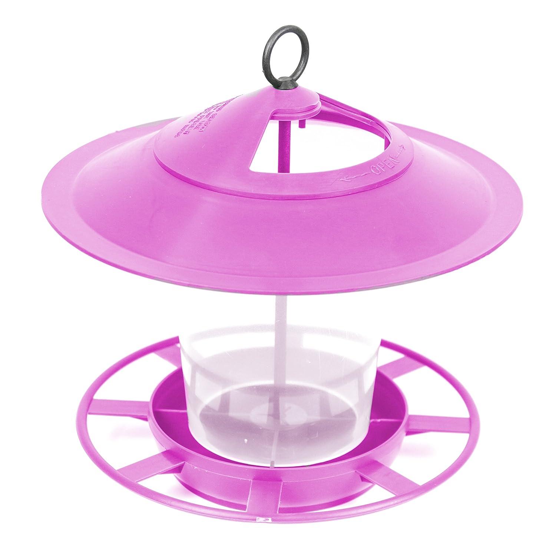 Etree Lantern Bird Seed and Nut Feeder Blue with Scoop NEC Plastics Ltd