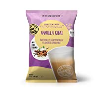Big Train Vanilla Chai Tea Latte, 56 Ounce Powdered Instant Chai Tea Latte Mix, Spiced Black Tea with Milk, For Home, CafÃ, Coffee Shop, Restaurant Use