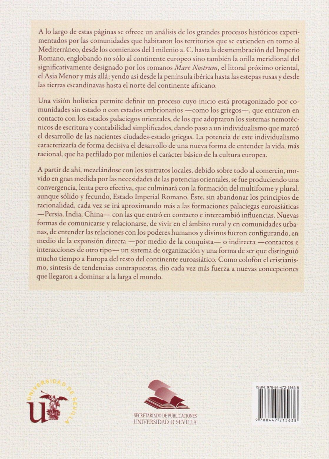 Historia de Europa ss. X a.c.-V d.c. Serie Historia y ...