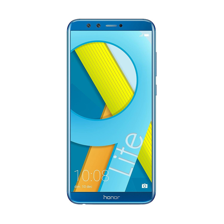 """Honra 9 Lite Smartphone, Azul, 32GB de Memória, 3GB RAM, 5.65 Display """"FHD +, Câmera Dupla 13 + 2MP [Itália]"""