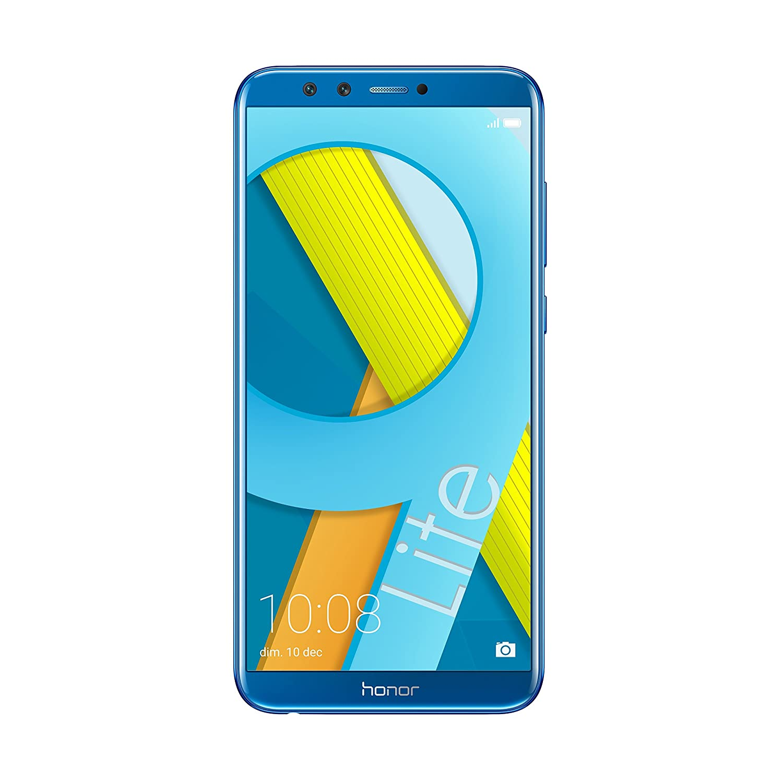 "Honor 9 Lite Smartphone, Blu, 32GB Memoria, 3GB RAM, Display 5.65"" FHD+, Doppia Fotocamera 13+2MP [Italia]"
