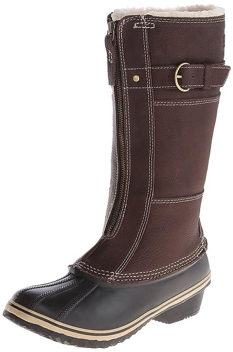cad420217 Sorel Women's Winter Fancy Tall II Boot,Grizzly Bear/Black,10.5 M US ...