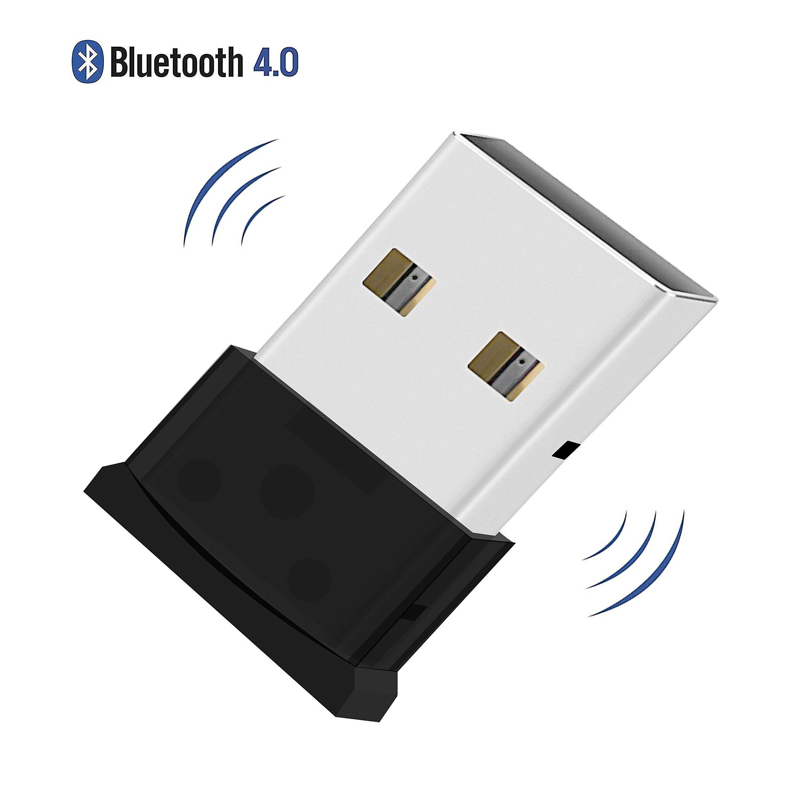 QueenDer Adattatore Bluetooth USB Nano Dongle Bluetooth 4.0 Wireless  08ca5c2fb9e8