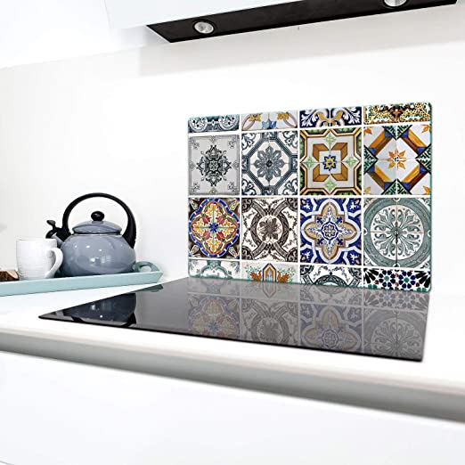 QTA - Cubierta de vitrocerámica, 1 pieza, 80 x 52 cm, placas ...